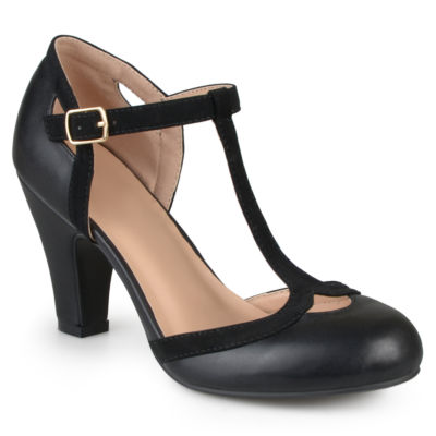 Journee Collection Olina-Wd Womens Pumps-Wide
