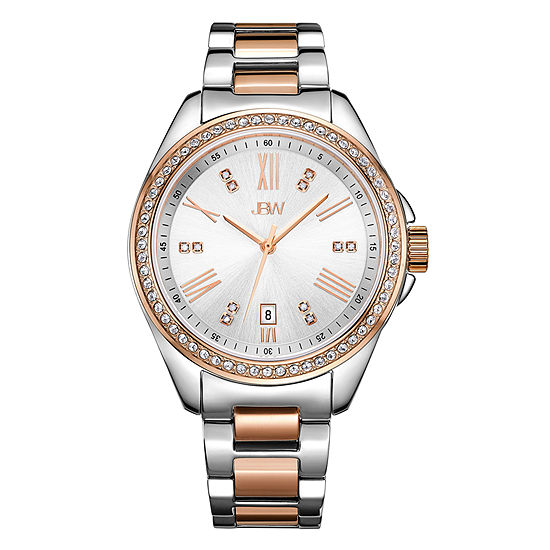 JBW Women's Capri 0.12 ctw Diamond Stainless Steel Watch J6340C