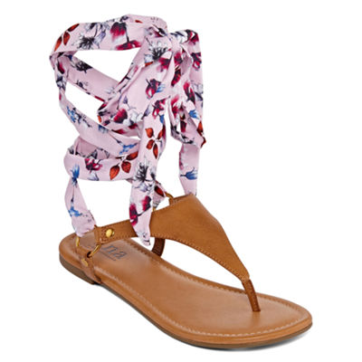 a.n.a Womens Sailor Flat Sandals
