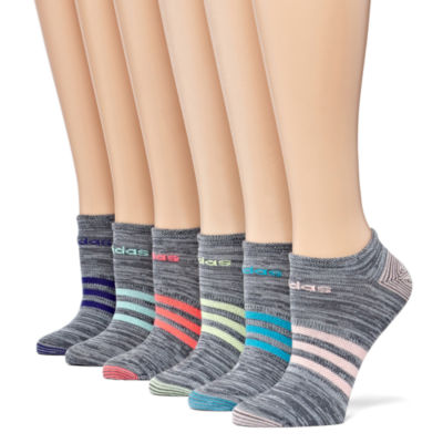 adidas 6 Pair No Show Socks - Womens