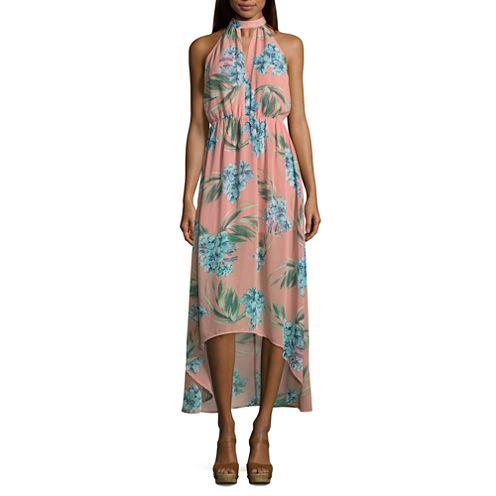 Renn Sleeveless Floral Maxi Dress