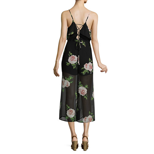 Renn Sleeveless Floral Shift Dress