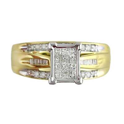 1/2 CT. T.W. Diamond Bridal Ring 10K Gold