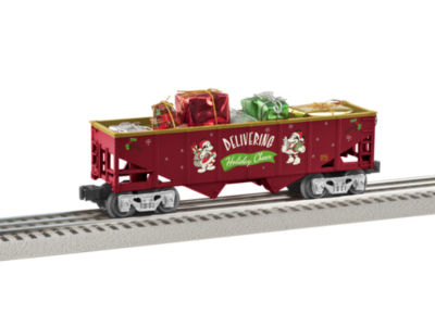 Lionel Trains Mickey's Holiday Hopper with Present Load