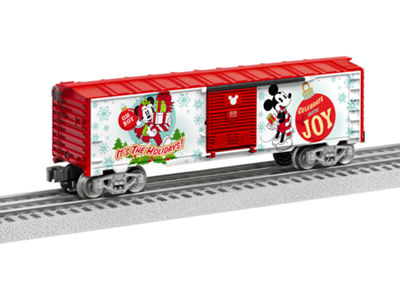 Lionel Trains Mickey Mouse Happy Holidays Boxcar
