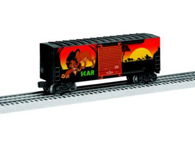 Lionel Trains Scar Hi-Cube Boxcar