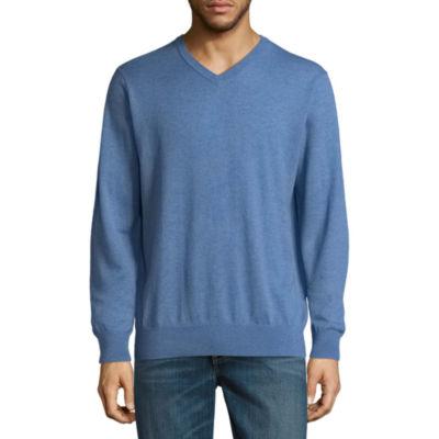 St. John's Bay Long Sleeve Knit Pullover Sweater