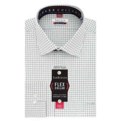 Van Heusen Flex Collar Dress Shirt Long Sleeve Woven Dress Shirt