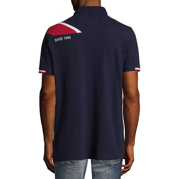 U.S. Polo Assn. Embroidered Short Sleeve Knit Polo Shirt