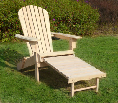 Northbeam Adirondack Chair  with Pullout Ottoman