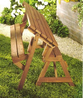 Northbeam Interchangeable Picnic Table or Garden Bench