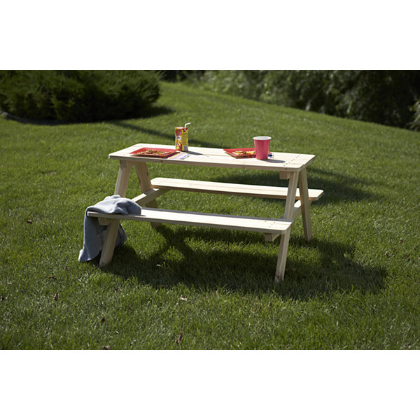 Northbeam Wooden Kids Picnic Table