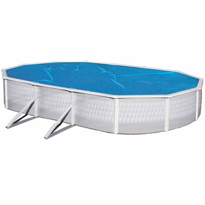 Blue Wave Oval 8-mil Solar Blanket for Above Ground Pools