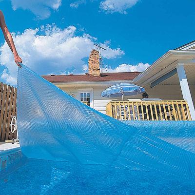 Blue Wave Rectangular 12-mil Solar Blanket for InGround Pools