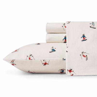 Eddie Bauer® Ski Slope Easy Care Flannel Sheet Set