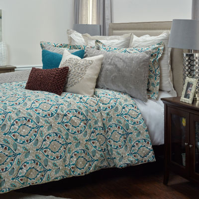 Rizzy Home Dress The Bed D'Vine 3-pc. Comforter Set