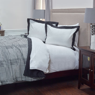 Rizzy Home Dress The Bed Houndstooth Comforter Set