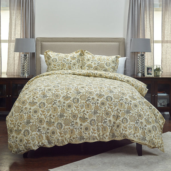 Rizzy Home Dress The Bed Madame Fleur Comforter Set