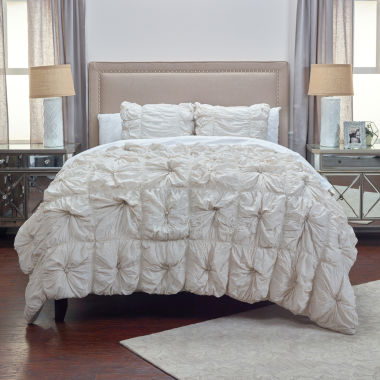Rizzy Home Dress The Bed Soft Dreams Comforter Set