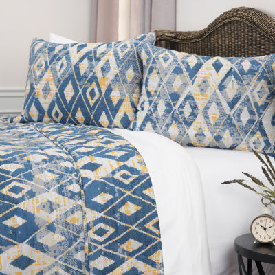 Rizzy Home Maddux Place Asher 3-pc. Quilt Set