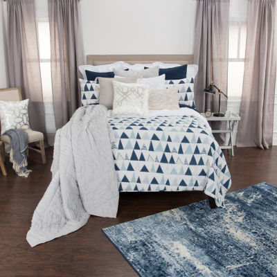 Rizzy Home Maddux Place Flint 3-pc. Quilt Set