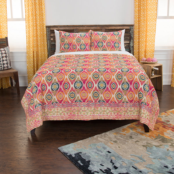 Rizzy Home Maddux Place Serendipity 3-pc. Quilt Set