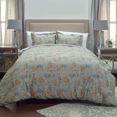 Rizzy Home Ilene'S Garden Duvet Cover Set