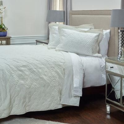 Rizzy Home Alana Matelassé Quilt - JCPenney : matelasse quilt - Adamdwight.com