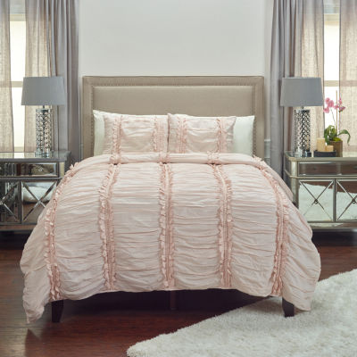 Rizzy Home Clementine Pink Quilt