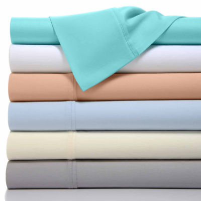 Bibb Home 1100 Thread Count Cotton Rich Solid Sheets 6 Piece Set