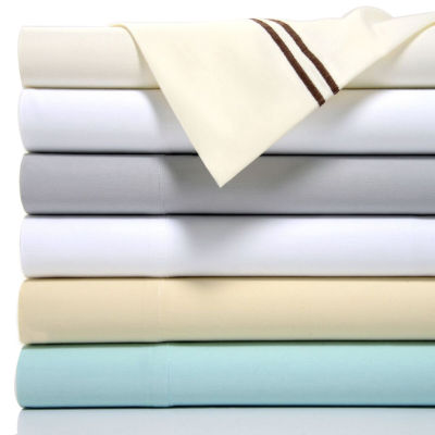 Fifth Ave 1200 Thread Count Cotton Rich 6 Piece Sheet Set with Double Marrow