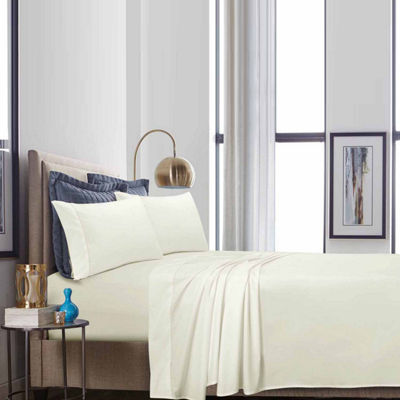 Tribeca Living 500 Thread Count Percale Sheet Set