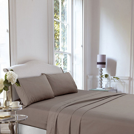 Tribeca Living 400 Thread Count Percale Sheet Set Not Applicable
