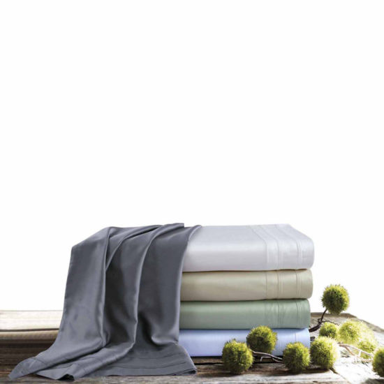 Tribeca Living 300 Thread Rayon from Bamboo Sateen Sheet Set