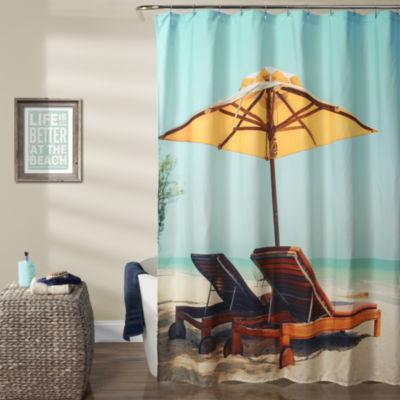 Lush Decor Lush Décor Beach Chair Shower Curtain
