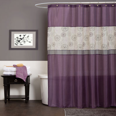 Lush Décor Covina Shower Curtain