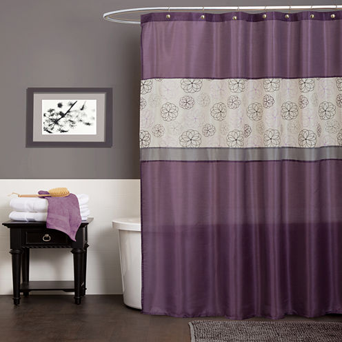 Lush Decor Lush Décor Covina Shower Curtain