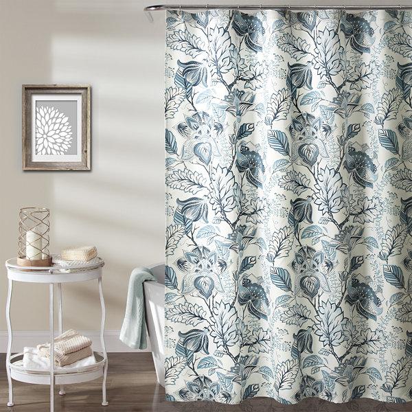 Lush Decor Lush Décor Cynthia Jacobean Shower Curtain