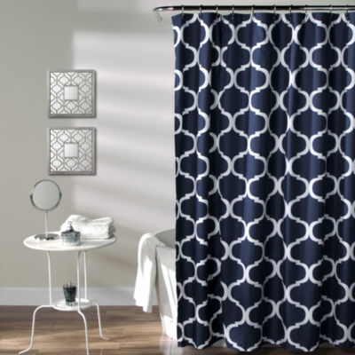 Lush Decor Lush Décor Geo Shower Curtain