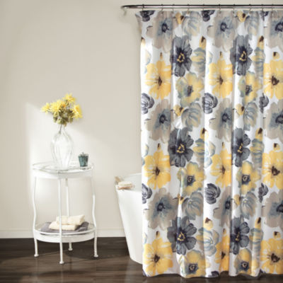 Lush Décor Leah Shower Curtain