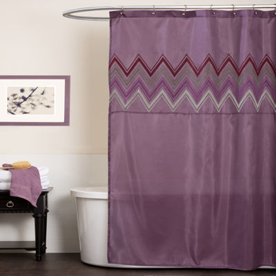 Lush Decor Home Boutique Mayra Shower Curtain