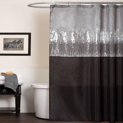 Lush Décor Night Sky Shower Curtain