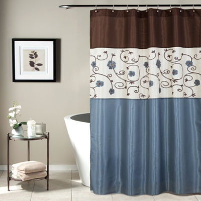 Lush Décor Royal Garden Shower Curtain
