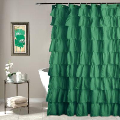 Lush Decor Lush Décor Ruffle Shower Curtain