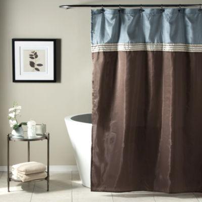 Lush Décor Terra Shower Curtain