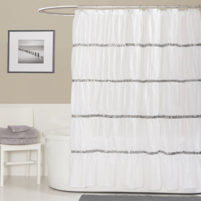 ush Décor Twinkle Shower Curtain