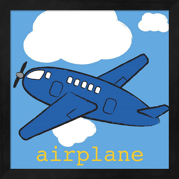 Airplane Framed Wall Art