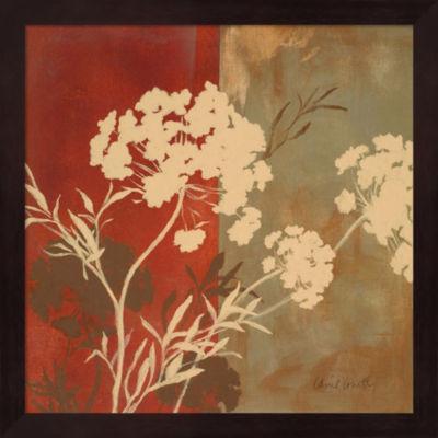 Among The Flowers I Framed Wall Art