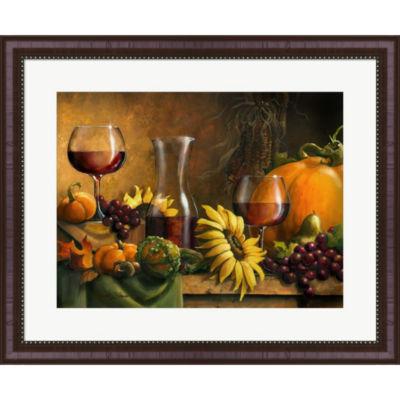 Metaverse Art Autumn Bounty by Janet Stever FramedWall Art