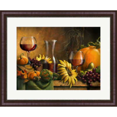 Autumn Bounty by Janet Stever Framed Wall Art